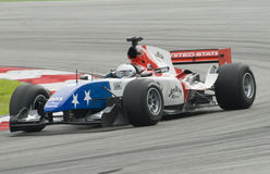 A1 driver Marco Andretti of A1 Team USA in action Stock Photo