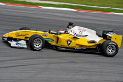 A1 GP RACE CAR. Malaysia a1 gp race car on track at A1 Grand Prix in Sepang Malaysia Stock Photos