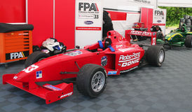 A1 Grand Prix cars Royalty Free Stock Images