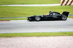 A1 Grand Prix Racing. A1 grand prix race car in action Royalty Free Stock Photo