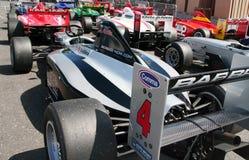 A1 großartige Prix Autos Stockfoto