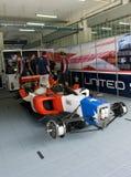 A1 Team United States pit crews take a break Stock Photos