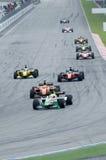 A1 Teams das Laufen beim Anfang des A1GP Rennens. Stockfotografie