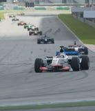 A1 Teams das Laufen beim Anfang des A1GP Rennens. Lizenzfreies Stockfoto
