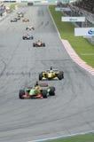 A1 Teams das Laufen beim Anfang des A1GP Rennens. Lizenzfreie Stockbilder