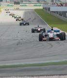 A1 Teams die bij het begin van A1GP ras rennen. Stock Foto