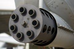 A10 machine Gun Stock Photo