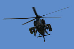 A129 Attack helicopter. A129 Mangusta Attack helicopter Stock Photography