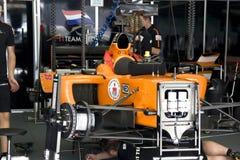 A1GP - Ação holandesa do grupo de poço da equipe Fotos de Stock Royalty Free