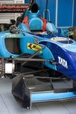 A1GP - Carro de corridas de India da equipe Foto de Stock