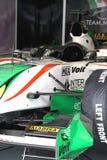 A1GP - Carro de corridas de México da equipe Foto de Stock Royalty Free