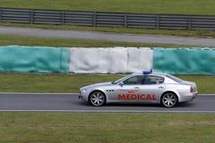 A1GP medizinisches Auto Stockbild