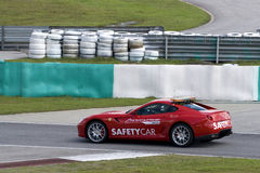 A1GP Sicherheits-Auto Stockfotografie