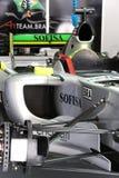 A1GP - Team-Brasilien-Rennwagen Lizenzfreie Stockfotografie