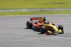 A1GP - Team China Car Spin Stock Photos