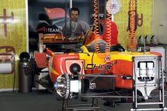 A1GP - Team-China-Rennwagen Stockbilder
