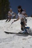 A29 Bump Buffet. Imperial Temptresses telemark team at the 2006 Breckenridge Bump Buffet competition Stock Images