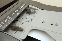 A3, A4, A5, B4, B5, B6 on laser copier Stock Images