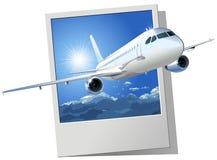 a320空中巴士乘客向量 免版税库存照片