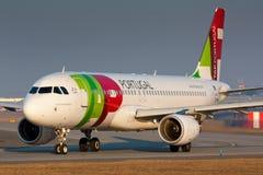 A320轻拍 库存图片