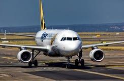 泰格航空公司A320 免版税库存照片