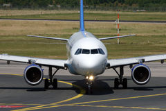 a320 airbus Στοκ φωτογραφία με δικαίωμα ελεύθερης χρήσης