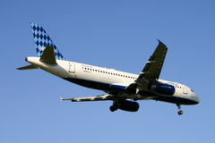 a320 Airbus airwyas jetblue Fotografia Royalty Free