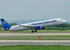 a320 Airbus kucbarski Thomas Obraz Stock
