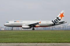 a320 jetstar διάδρομος airbus Στοκ Εικόνες