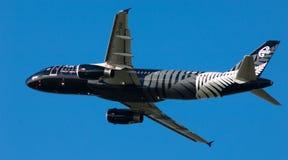 a320 lotniczy nowy Zealand Obrazy Royalty Free