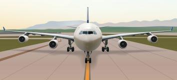A340-voor-mening Stock Foto