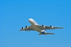 a380空中巴士 免版税库存图片