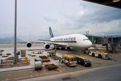 A380 Fotografia de Stock Royalty Free