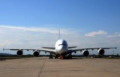 a380 Airbus Zdjęcia Royalty Free