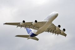 a380 airbus Стоковые Фото