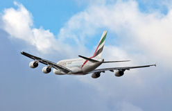 A380 Airbus en vol Images stock