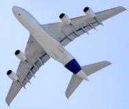 A380 en Moscú Imágenes de archivo libres de regalías
