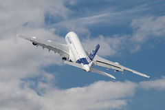 a380 farnborough Royaltyfri Fotografi