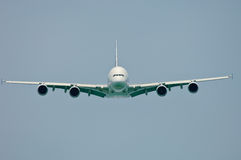 A380 Frontal View Stock Photography