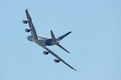 A380, hintere Ansicht Lizenzfreie Stockfotografie