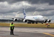 A380 l'éléphant superbe Photo stock