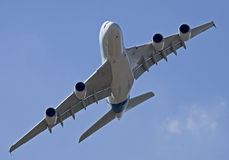 A380 in Moscow 2 Stock Images