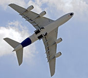 A380 in Moskau 1 Stockfotos