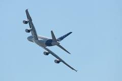 A380, vue arrière Photographie stock libre de droits