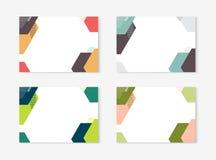 Σχέδιο προτύπων πιστοποιητικών διπλωμάτων με τη διεθνή κλίμακα τυπωμένων υλών, A4, A5 επίσης corel σύρετε το διάνυσμα απεικόνισης Στοκ φωτογραφία με δικαίωμα ελεύθερης χρήσης