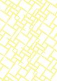 A4 Geel en Witte Achtergrond - Royalty-vrije Stock Fotografie