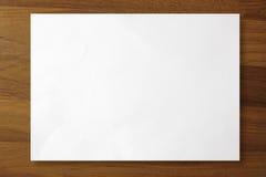 A4 papier Zdjęcia Stock