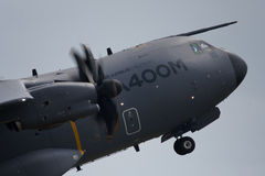 A400M. FAIRFORD, UK - JULY 2013:  Airbus Military A400M taking off at the Royal International Air Tattoo Stock Photos