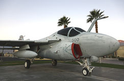 A6 intruso, museo del aire de Palm Spring Imagen de archivo libre de regalías