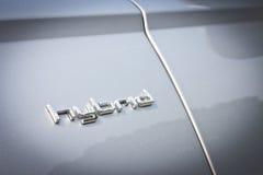 奥迪A6杂种2014年 免版税库存照片